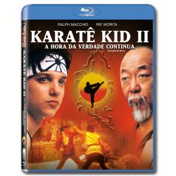 Blu - Ray - Karatê Kid 2 - A Hora da Verdade Continua - John G. Avildsen ( Diretor ) - 7892770024613