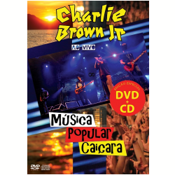 DVD - Charlie Brown Jr. - Música Popular Caiçara ( CD ) + - Charlie Brown Jr. - 7899340772523