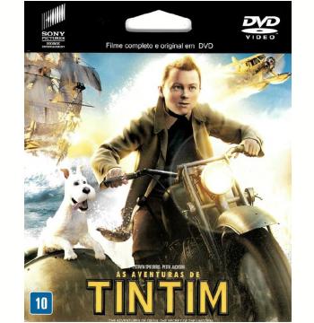 As Aventuras de Tintim (DVD)