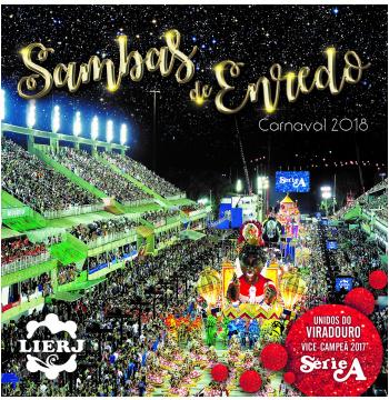 Sambas de Enredo Carnaval 2018 - Série A - LIERJ (CD)