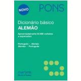 Dicionário Básico (Alemão-Português / Português-Alemão) - Pons Gmbh