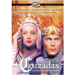 DVD - As Cruzadas - C. Aubrey Smith - 7898366213379