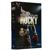 Rocky - A Saga Completa - 1 ao 6 (DVD) - Silvester Stallone