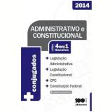 C�digo 4x1 Saraiva - Legisla��o Administrativa E Constitui��o Federal - 2014 -