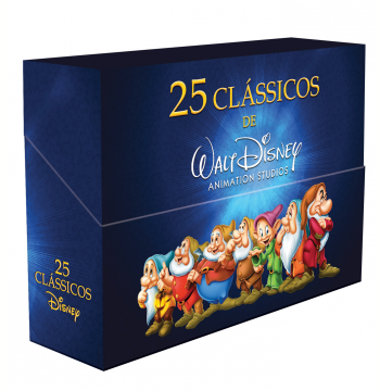Box 25 Clássicos Disney (DVD)