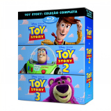 Trilogia Toy Story - Blu Ray (Blu-Ray) - Lee Unkrich (Diretor)
