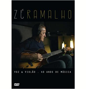 Zé Ramalho Voz & Violão - 40 Anos de Música (DVD)