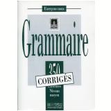 350 Ex. - Grammaire Moyen - Corriges - Jean-christophe Delbende