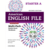 American English File Starter A Multi-pack With Online Practice & Ichecker - Second Edition -