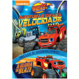 Blaze And The Monster Machines: Aventuras Em Alta Velocidade (DVD)