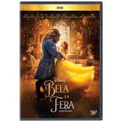 DVD - A Bela e a Fera ( 2017 ) - Emma Thompson, Ewan McGregor - 7899307922695