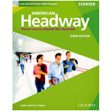 American Headway Starter Student Book With Oxford Online Skills Program - Third Edition -