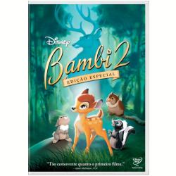 DVD - Bambi 2 - Edição Especial - Brian Pimental - 7899307915802