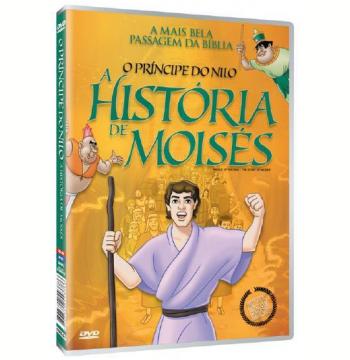 A História de Moisés - O Príncipe do Nilo (DVD)
