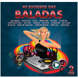 40 Sucessos Das Baladas Diversos (duplo) (CD) - Diversos