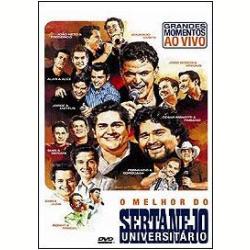 DVD - O Melhor do Sertanejo Universitário - Vários - 602517764040