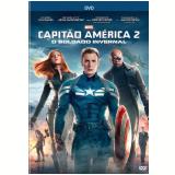 Capitão América 2 (DVD) - Samuel L. Jackson, Robert Redford, Chris Evans