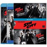 Cole��o Sin City Vol 1 E 2 (Blu-Ray) - Quentin Tarantino (Diretor), Frank Miller (Diretor)