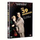 Os 39 Degraus (DVD) - Alfred Hitchcock (Diretor)
