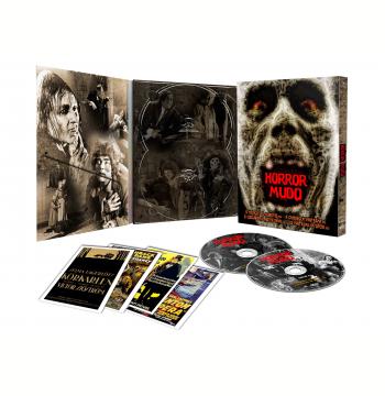 Horror Mudo - Digipak + 4 Cards (DVD)