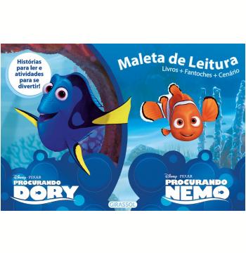 Disney Maleta de Leitura - Procurando Dory e Procurando Nemo
