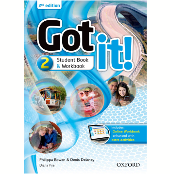 Got It! 2 - Student Book - Workbook With Digital - Workbook - Second Edition