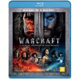 Warcraft - O Primeiro Encontro Entre Dois Mundos (Blu-Ray 3D) +  (Blu-Ray) - Paula Patton, Ben Foster, Dominic Cooper
