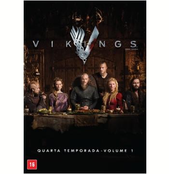 Vikings - 4ª Temporada - Vol. 1 (DVD)