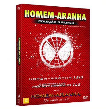 Box - Homem-Aranha (6 Discos) (DVD)