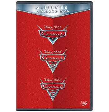 Coleção - Carros 3 Filmes (DVD)