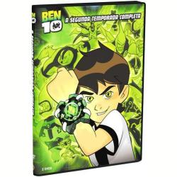 DVD - Ben 10 - 2ª Temporada Completa - Vários ( veja lista completa ) - 7892110108096