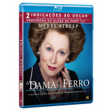 A Dama de Ferro (Blu-Ray) - Meryl Streep, Jim Broadbent