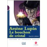 Arsene Lupin,  Le Bouchon De Cristal (Niveau 1) Livre + CD - Maurice Leblanc