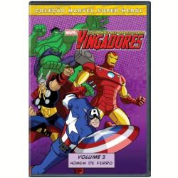 DVD - Marvel Super - Herói - Os Vingadores: Os Super - Heróis Mais Poderosos da Terra ( Vol. 3 ) - Vinton Heuck ( Diretor ) , Ciro Nieli ( Diretor ) - 7899307916939