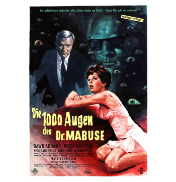Box - Dr. Mabuse de Fritz Lang + 4 Cards (Digistak)  (DVD)