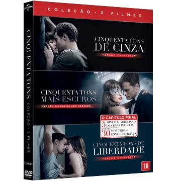 Coleção - Cinquenta Tons (3 DVDs)