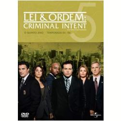 DVD - Lei & Ordem: Criminal Intent - 5ª Temporada - Courtney B. Vance, Kathryn Erbe, Vincent Donofrio - 7892141416535