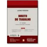Direito Do Trabalho (Vol. 9) - Leone Pereira