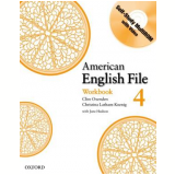 American English File 4 - Workbook With Cdrom -