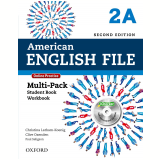 American English File 2A Multi-Pack With Online Practice And Ichecker - Second Edition -