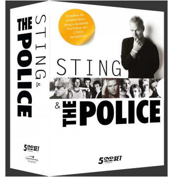 Box - Sting & The Police (DVD)