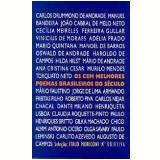 Os Cem Melhores Poemas Brasileiros do Século - Chico Alvim, Augusto de Campos, Carlito Azevedo ...