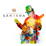 Box - The Many Faces Of Santana - Digipack  (CD)