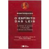 Esp�rito das Leis, o 9� Edi��o - Charles Louis de Montesquieu