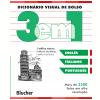 Dicion�rio Visual de Bolso - 3 em 1 - Ingl�s/ Italiano/ Portugu�s