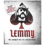 Lemmy - 49% Motherf**er. 51% Son of a Bitch.  (Blu-Ray) - Lemmy