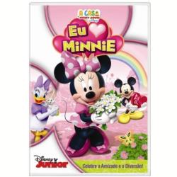 DVD - A Casa do Mickey Mouse da Disney - Eu Amo Minnie - 7899307917158