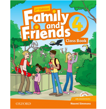 Family And Friends 4 Class Book With Multirom Pack - Second Edition