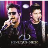 Henrique & Diego - Tempo Certo (Ao Vivo Em Campo Grande) (CD) - Henrique & Diego