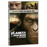 Planeta dos Macacos - 1968 + Planeta dos Macacos - A Origem (DVD) - Vários (veja lista completa)